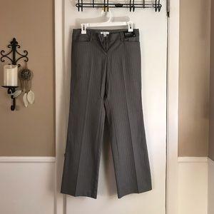 NWT - NY&Co Gray Bootcut Dress Pants - Size 4P